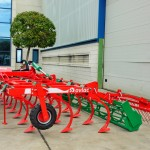 Ruedas, rodillo CRG y rastra / Wheels, CRG Roller and Tine harrow