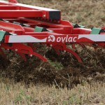 Sistema de cauchos patentado por Ovlac / Rubber suspension on tines patented by Ovlac