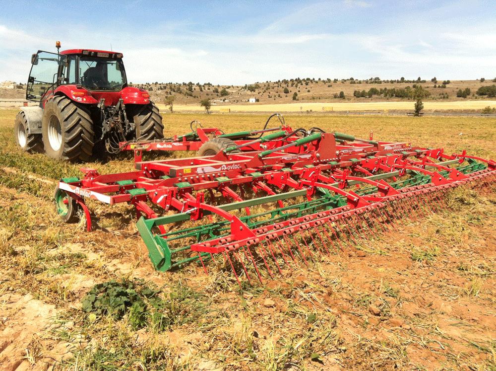 Ovlac presentará en Demoagro 2015 arados, cultivadores y gradas más grandes y capaces