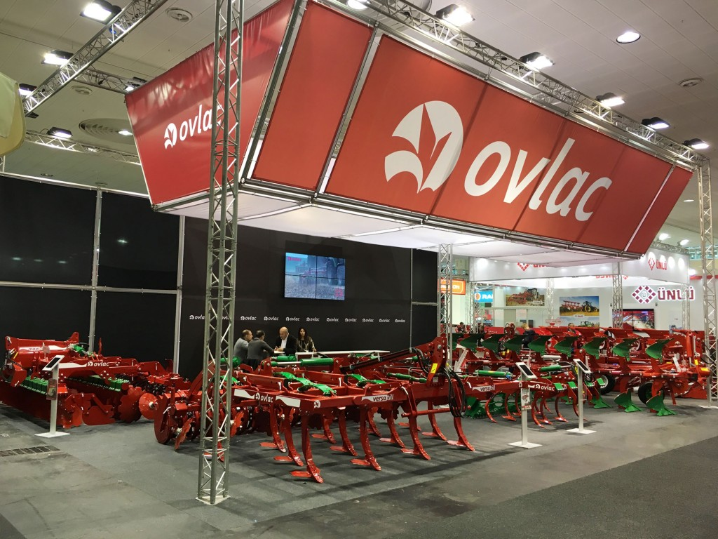 Stand de Ovlac en Agritechnica