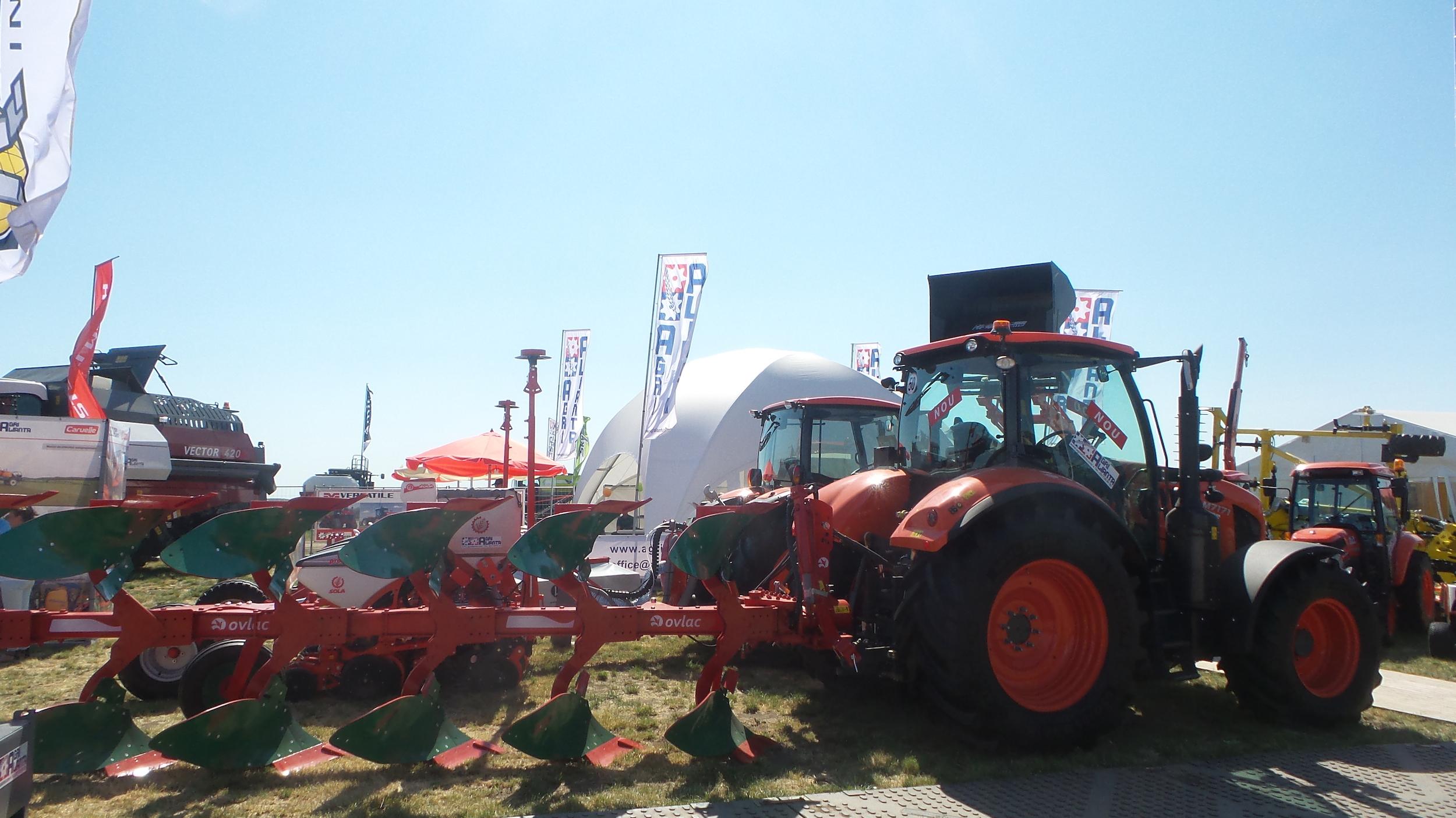 Ovlac participó en la feria AgriPlanta de Rumanía, un año más