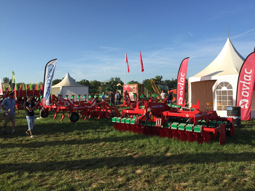 OVLAC reinforces its presence in France and presented new ploughs at Innov-Agri GSO 2015