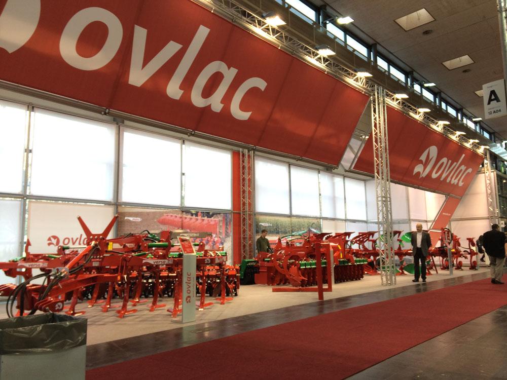 Nuevos desarrollos tecnológicos en cultivadores y arados OVLAC, en Agritechnica 2015
