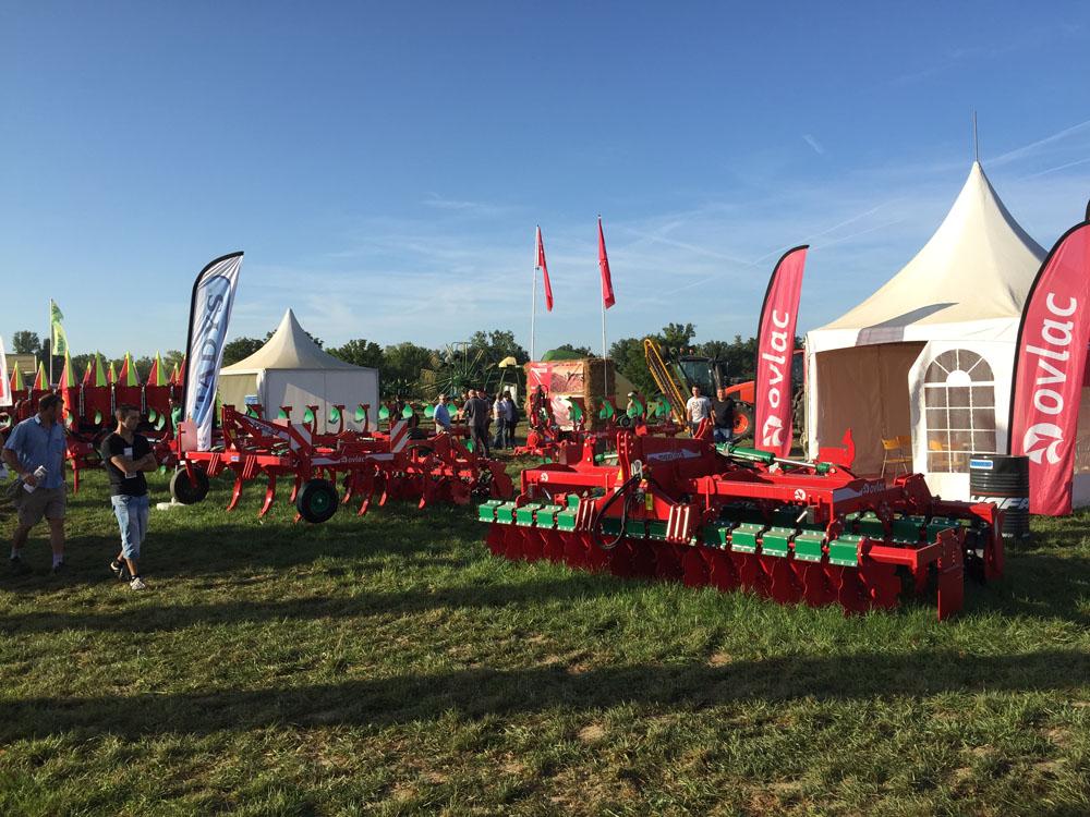 Ovlac se afianza en el mercado francés tras la presencia de sus arados en Innov-Agri GSO 2015