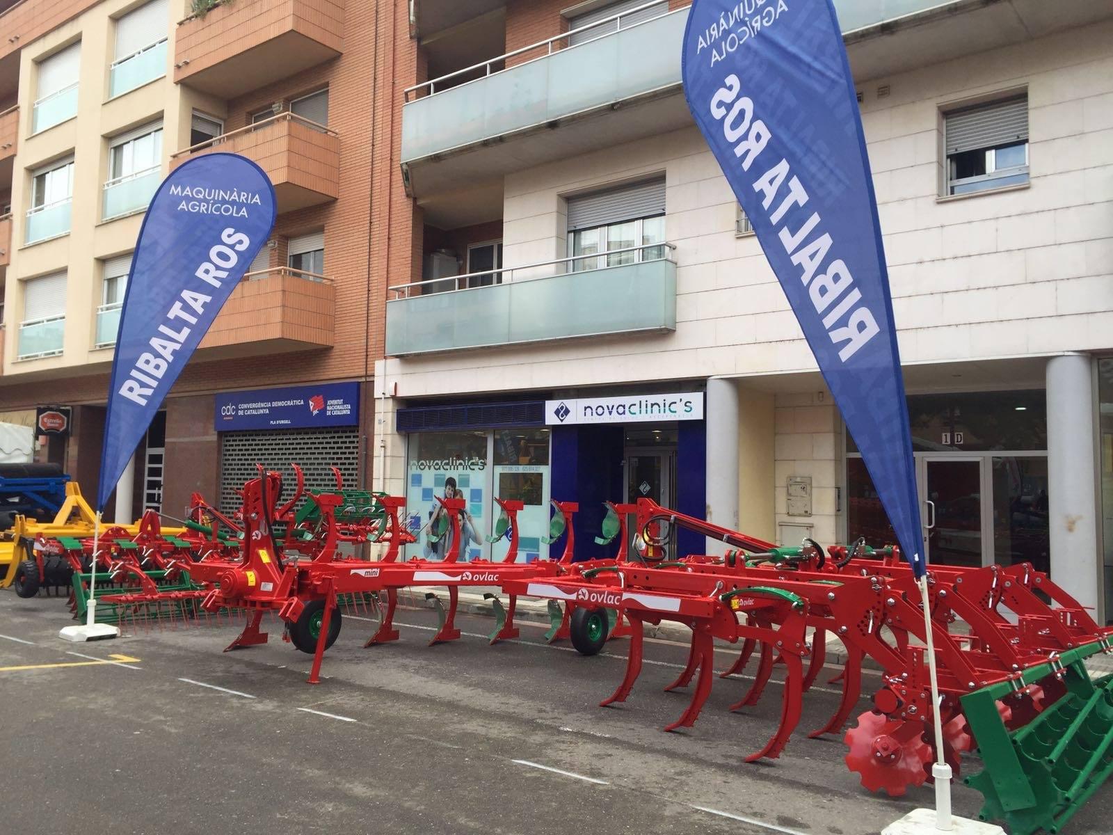 Ovlac estuvo presente en la Feria de Sant Josep en Mollerusa
