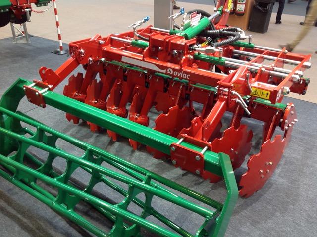 Ovlac desplegará en Innov-Agri (Francia) arados, cultivadores y maquinaria agrícola para viñedo