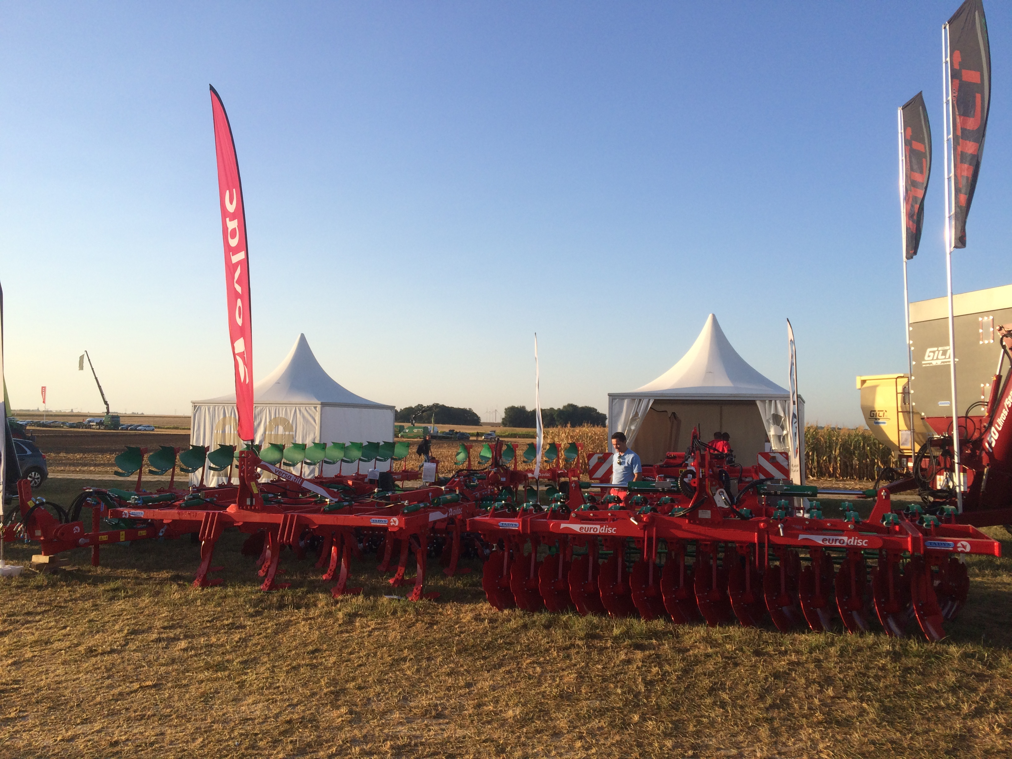 Ovlac's advanced depth showed working in action at Tillage Live 2016