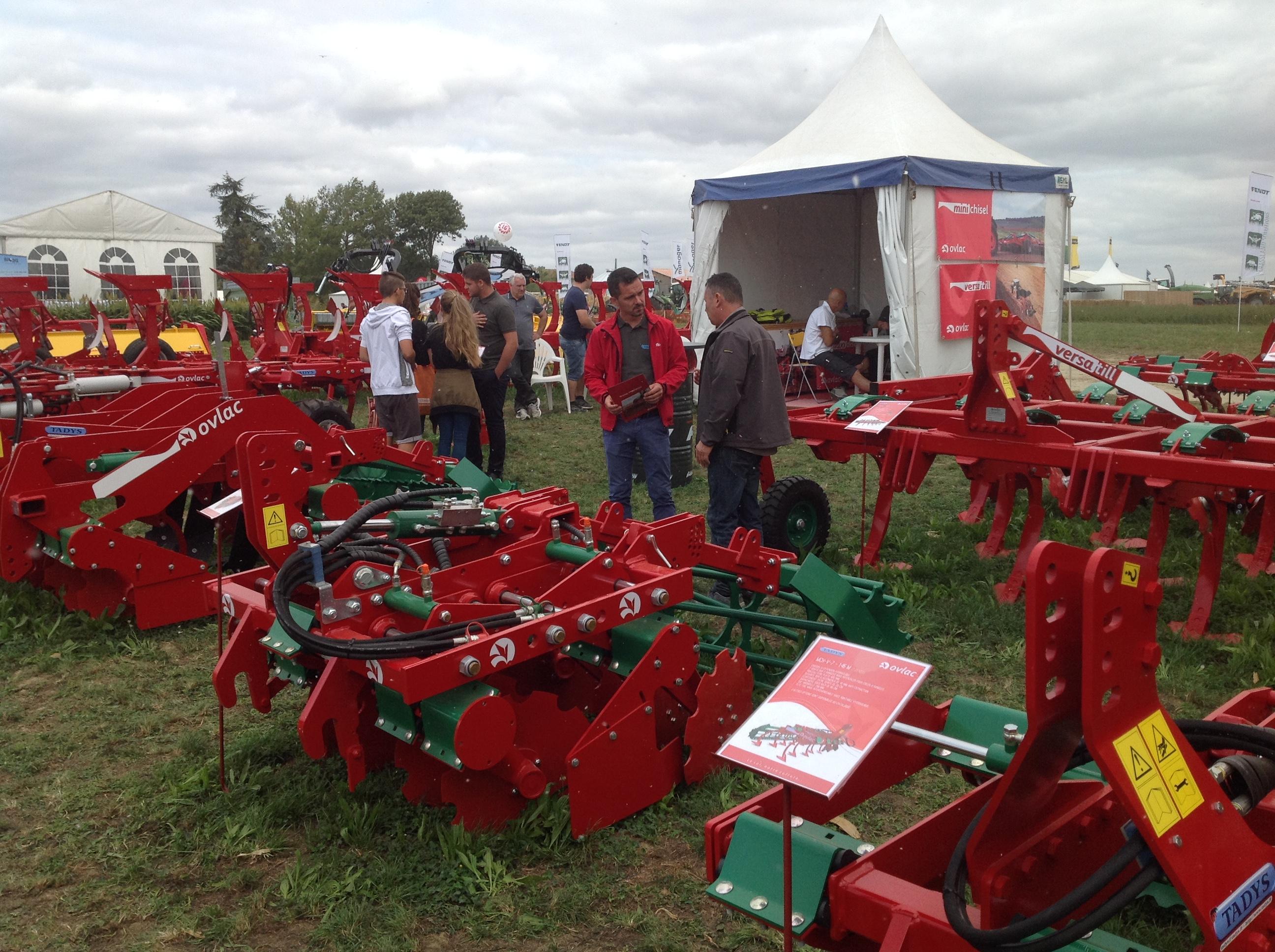 Gran éxito de Ovlac en Innov-Agri